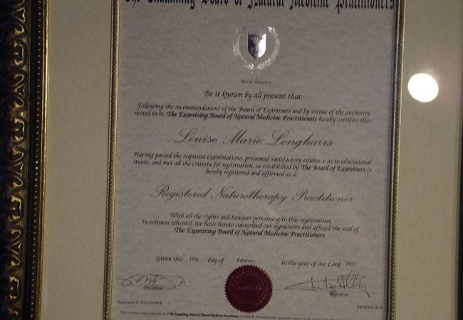 Longhair Certificate