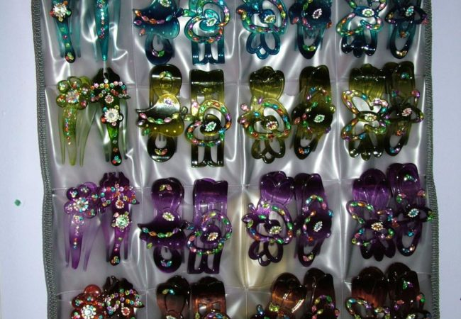 Our Gorgeous Light-Weight Clips... Candy For The Hair...