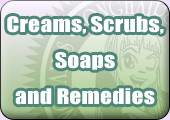 creams scrubs soaps and remedies