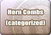 Longhair Horn Combs